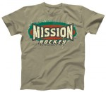 T-Shirt Mission Old School Aged Shirt