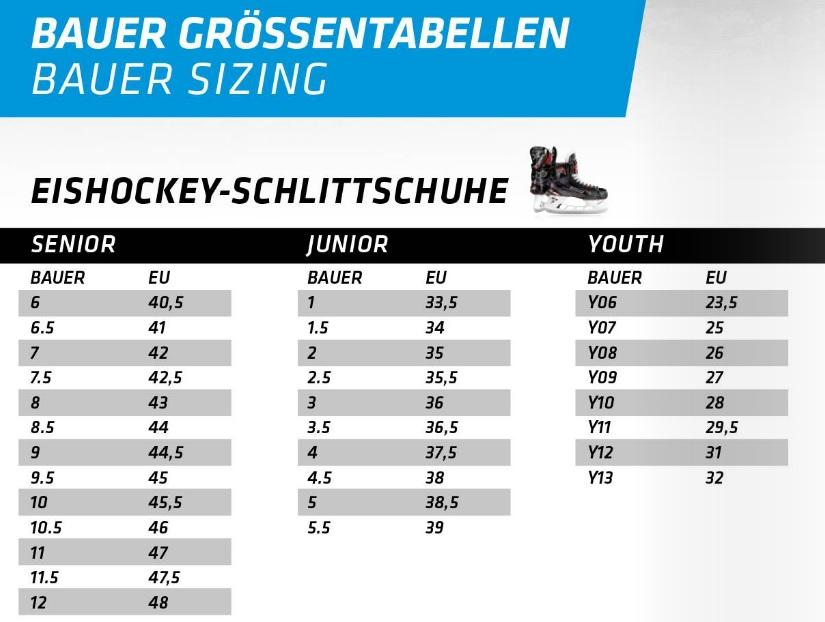 Bauer Schlittschuhe bei Killahockey im Onlineshop