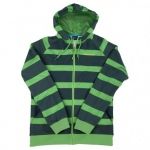 Hoody FZ Striped