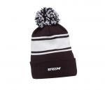 Mütze CCM Fleece Pom Knit